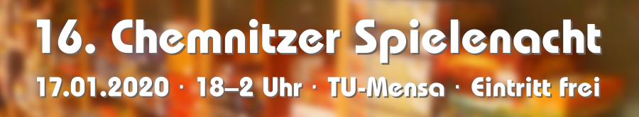 Spielenacht 2020 - Banner